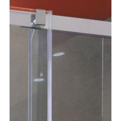 Admiral B2 - Luxusní sprchové dveře zasouvací 117-121cm, sklo 8mm