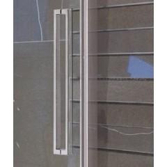 Admiral B2 - Luxusní sprchové dveře zasouvací 127-131cm, sklo 8mm