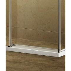 ADMIRAL R23 Chrom Luxusní sprchová zástěna obdélníková 120x80cm, sklo 8mm