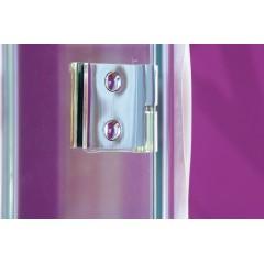 Better B5 CHROM Sprchové dveře do niky čiré sklo 8mm, 116-120x195cm