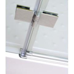 Better R23 CHROM Sprchový kout čiré sklo 8mm, 120x80x195cm