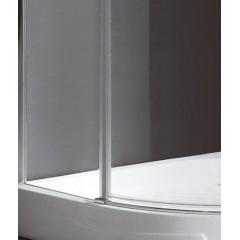 Better S3 90 CHROM Sprchová zástěna čiré sklo 8mm, 90x90x195cm