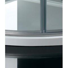 CRYSTAL S7 90 cm CHROM Sprchová zástěna čiré sklo 8mm