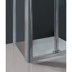 DYNAMIC B6 80 - Sprchové dveře zalamovací 77-81cm