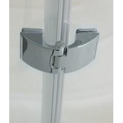 EXTRA P4 90 CHROM Sprchový kout sklo 8mm, 90x90x195cm