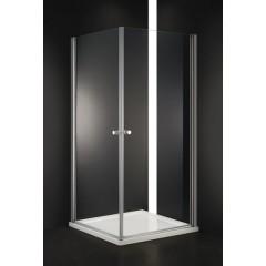 Pure A2 80 cm  Sprchová zástěna 80x80x190cm s dvěma otočnými dveřmi