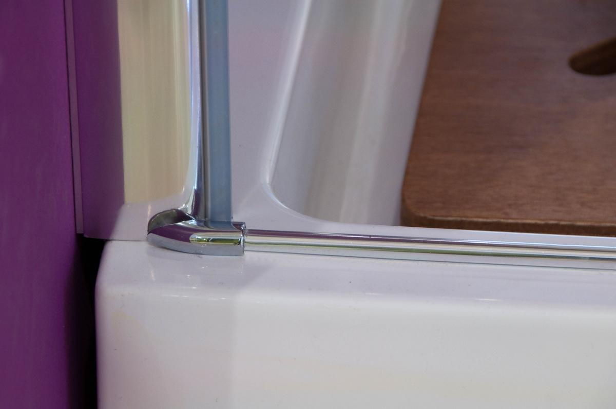 32cdf739e49cf Glass B1 90 sprchové dveře do niky jednokřídlé 86-90cm ...