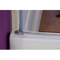 Glass B1 90 sprchové dveře do niky jednokřídlé 86-90cm