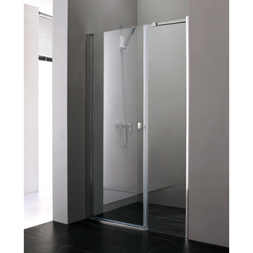 Glass B7 110 CHROM Sprchové dveře do niky 107 - 111 cm