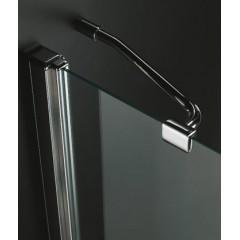 GLASS R21 120x80cm CHROM Sprchová zástěna