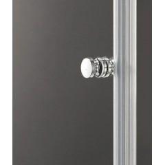GLASS R33 120x90cm CHROM Sprchová zástěna
