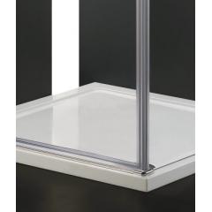 GLASS R10 100x80cm CHROM Sprchová zástěna