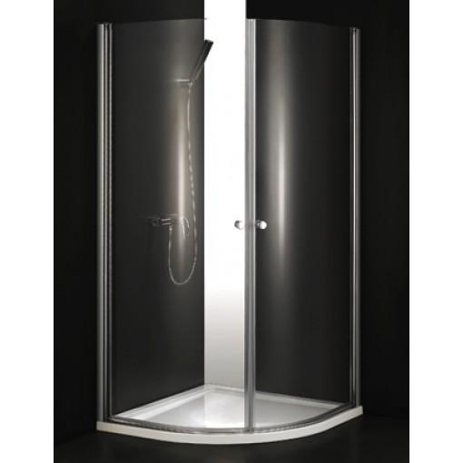 GLASS S2 90 cm CHROM Sprchová zástěna čiré sklo