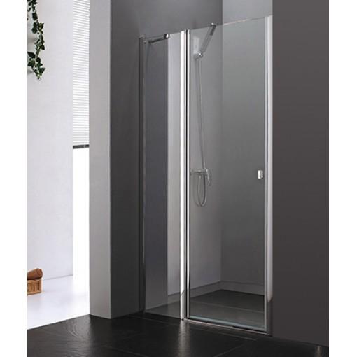 Glass B5 115 CHROM Sprchové dveře do niky 112 - 116 cm