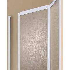 LUX B6 60 - Sprchové dveře zalamovací 56 - 61cm