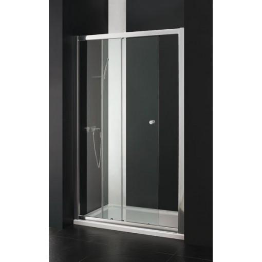Master B2 sprchové dveře do niky zasouvací 116-120 cm