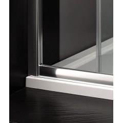 Master B2 sprchové dveře do niky zasouvací 126-130 cm