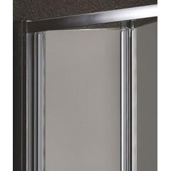 Master B6 80 Sprchové dveře do niky-zalamovací dvoudílné 76-80 cm