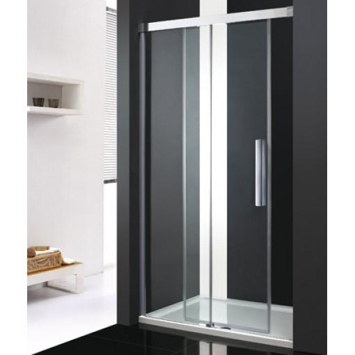 Nobel B2 - Luxusní sprchové dveře zasouvací s brzdou 107-111cm, sklo 8mm