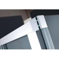 Nobel B2 - Luxusní sprchové dveře zasouvací s brzdou 167-171cm, sklo 8mm