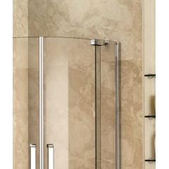 PARTY S7 90 cm CHROM Luxusní sprchová zástěna čiré sklo 8mm