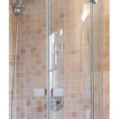 Sprchový kout čtvrtkruhový rohový SMART S7 90x90 cm