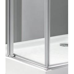 TEKNO R34 120x90cm Luxusní sprchová zástěna čiré sklo 8mm