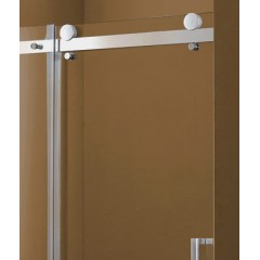 Tekno B2 - Luxusní sprchové dveře zasouvací 121-125 cm, sklo 8mm