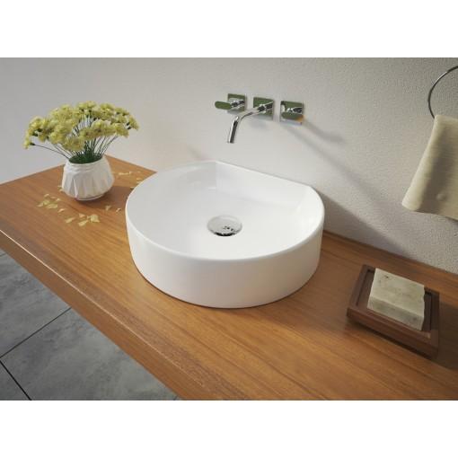 REX keramické umyvadlo na desku 40x35x10 cm
