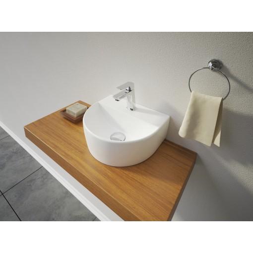 VICTOR keramické umyvadlo na desku 30,5x26x11,5 cm
