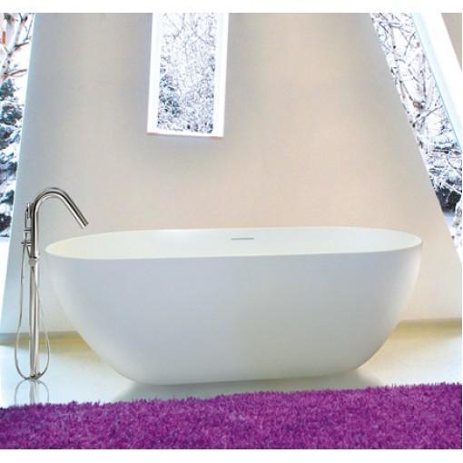 CINDY 150x75cm koupací vana z litého mramoru