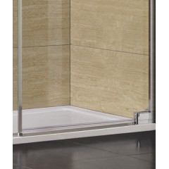 PARTY B7 120 sprchové dveře do niky jednokřídlé 118-122 cm