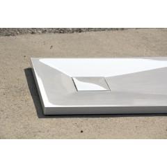 SMC GLOSSY 100x80cm sprchová vanička z tvrzeného polymeru obdélníková