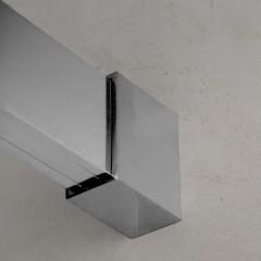 WELLNESS K2 100 Sprchový kout s posuvnými dveřmi 97,5-100cm, sklo 6mm