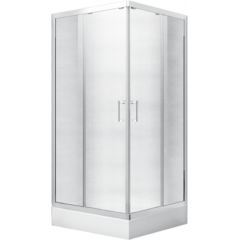 MODERN čtvercová sprchová zástěna 80x80x185cm