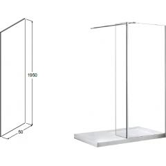 AVEO DUE 50 boční panel, 50 x 195cm