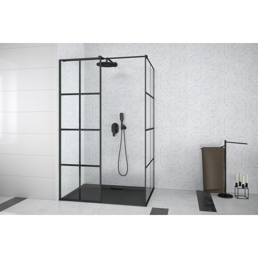 EXCEA obdélníkový sprchový kout, WALK IN 100x80cm