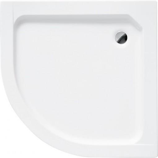 ALEX čtvrtkruhová sprchová vanička 70x70x4cm