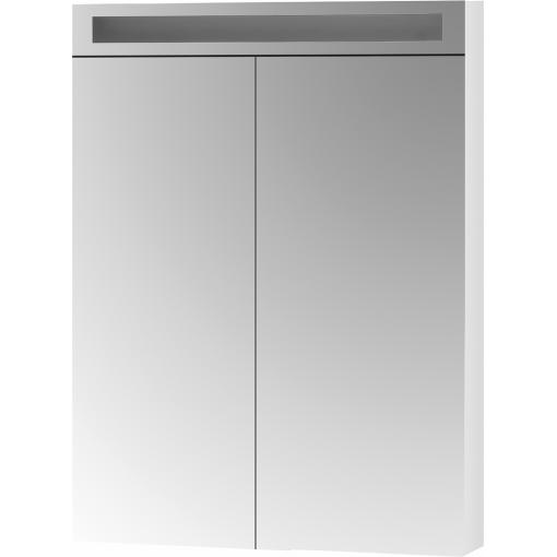 Dřevojas - Dvoudvéřová galerka MAX GA2O 70 - N01 Bílá lesk (145323)