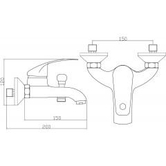 Vanová baterie RIMINI NI023RICR
