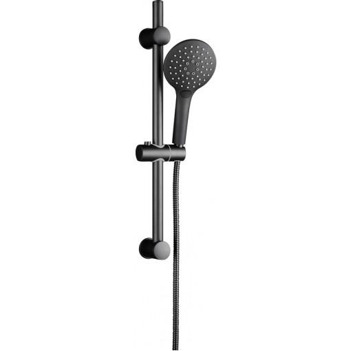 Sprchový set bez baterie RAVEN, černá matná (64916)