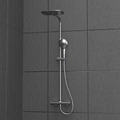 Sprchový set La Palma s termostatickou baterií, chrom