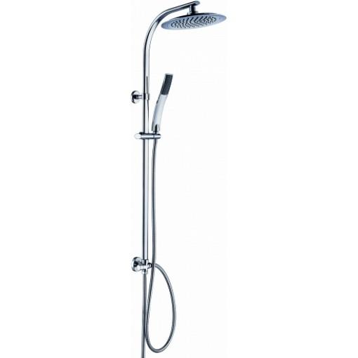 Sprchový set s tropickým deštěm STILOVAL včetně baterie s roztečí 150