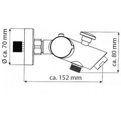 Termostatická vanová baterie  BALI