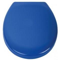 Duroplastové sedátko se zpomalovacím mechanismem SOFT-CLOSE DARK BLUE