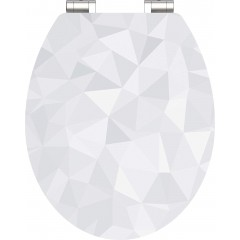 Wc sedátko Diamond MDF HG se zpomalovacím mechanismem SOFT-CLOSE