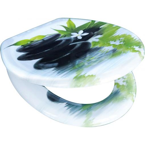 Duroplastové sedátko se zpomalovacím mechanismem SOFT-CLOSE Jasmin
