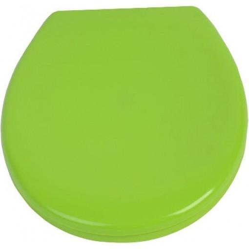 Duroplastové sedátko se zpomalovacím mechanismem SOFT-CLOSE LIGHT GREEN
