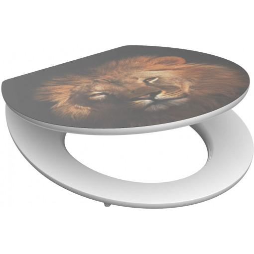 Wc sedátko Lion MDF HG se zpomalovacím mechanismem SOFT-CLOSE