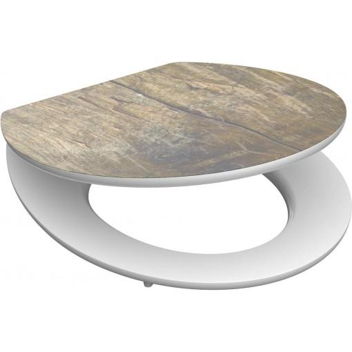 Wc sedátko Solid Wood MDF HG se zpomalovacím mechanismem SOFT-CLOSE